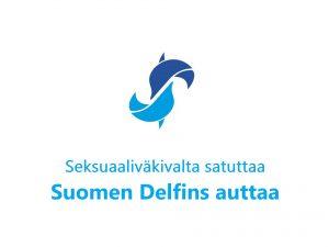 Suomen Delfins auttaa lapsuudessa seksuaaliväkivaltaa kokeneita aikuisia.